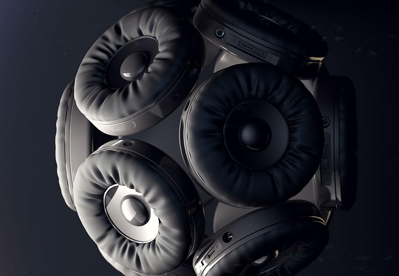 Speaker cluster (Cinema 4D)